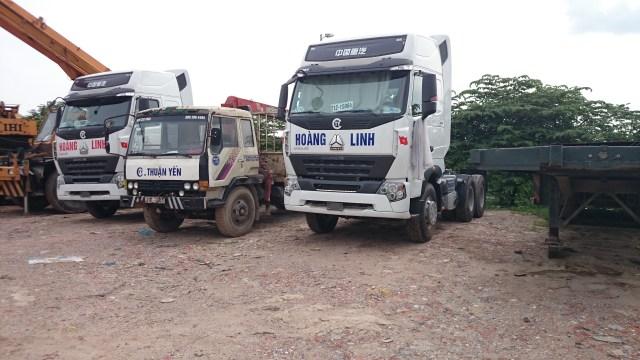 Xe tải chuyên chở